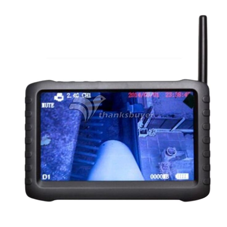 172.02$  Watch here - http://alihdy.worldwells.pw/go.php?t=32604664564 - TE810HB Headset 520TVL Wireless Inspection Camera Endoscope with Monitor HD DVR Recorder for Pipe Chimney 172.02$