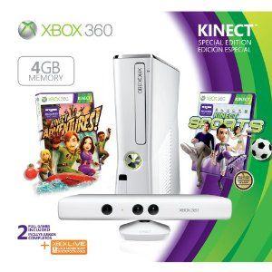 Xbox 360 4GB Console --- http://www.amazon.com/Xbox-360-4GB-Console/dp/B003O6JKLC/?tag=makmontec-20