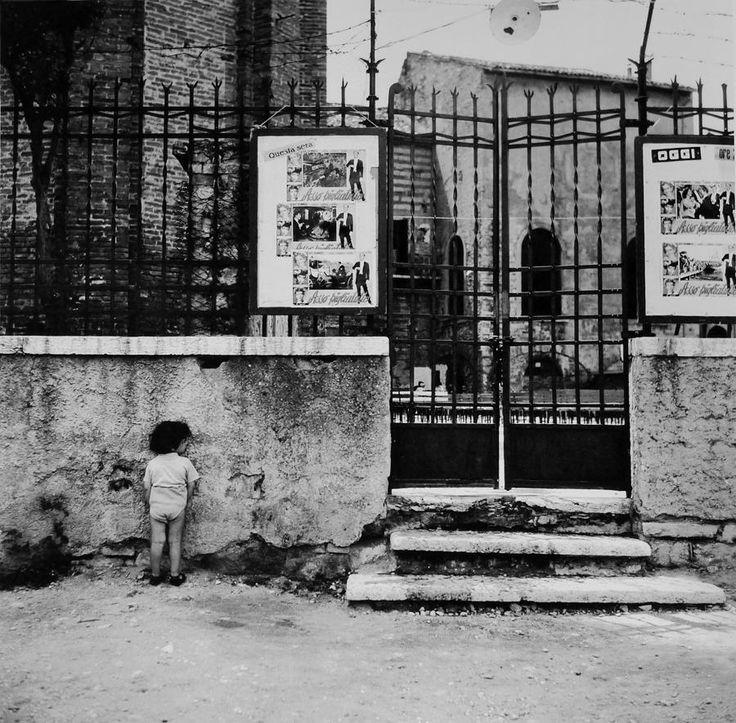 """Nino Migliori  dalla serie """"Gente dell'Emila"""", 1953"""