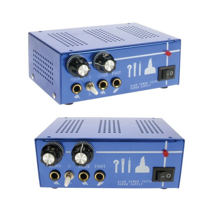 Dual Control Power Supply - £49.99 #powercordpedal #tattoosupplies #magnumtattoosupplies