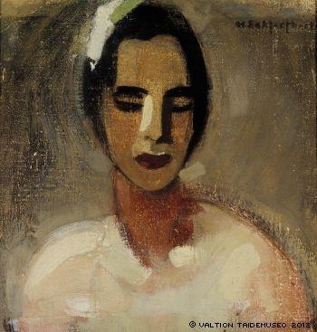 HELENE SCHJERFBECK Girl from California I (1919)