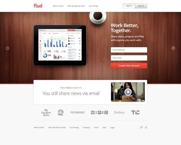 Flud Web App by BASIC, via #Behance #Webdesign