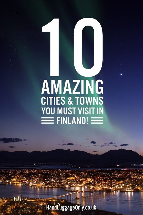 11 Amazing Cities and Towns You Have To Visit in Finland - Hand Luggage Only - Travel, Food & Home Blog