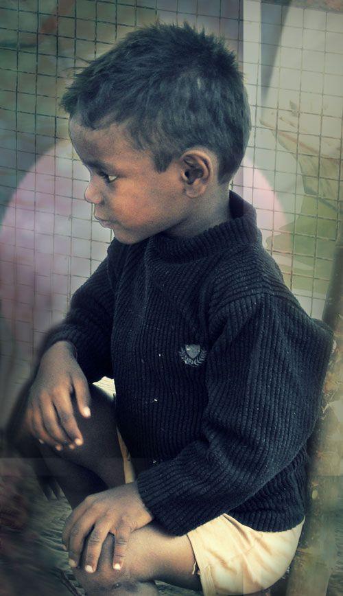 Boy at the Ganges