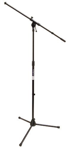 On Stage Stands MS7701 Tripod Boom Microphone Stand - http://www.kidstrument.com/recording-equipment/on-stage-stands-ms7701-tripod-boom-microphone-stand
