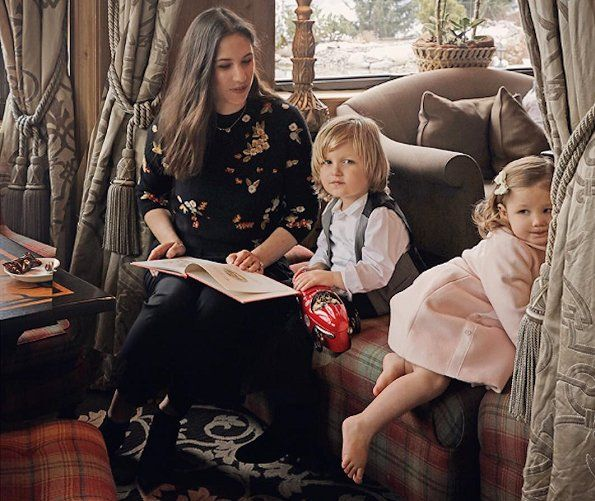 Newmyroyals: Baby Dior Photoshoot, taken July 2017-Tatiana Casiraghi with her children Alexander and India Casiraghi