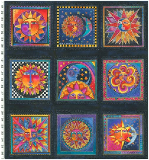 38 best images about laurel burch on pinterest for Celestial pattern fabric