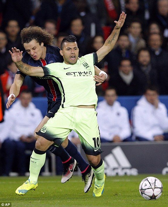 PSG 0-0 Man City UEFA Champions League LIVE score | Daily Mail Online