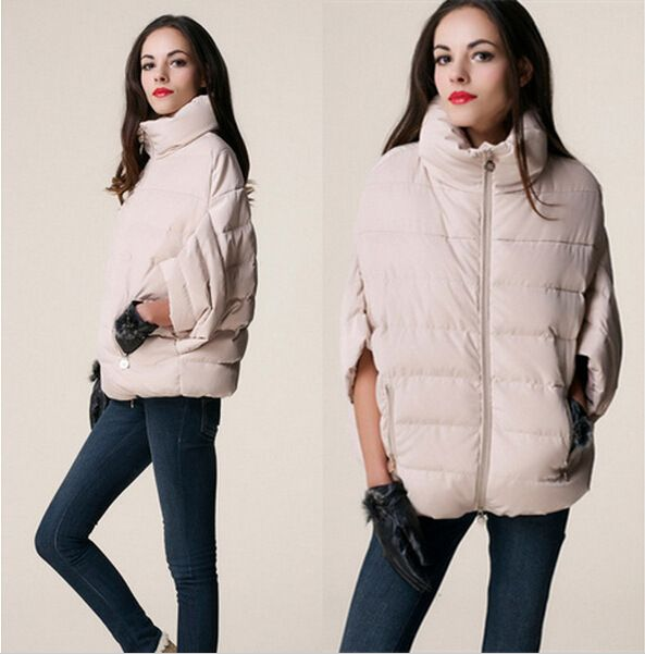 >> Click to Buy << New Winter Down Parkas Short Design Bat Sleeve Women Jacket Fashion Thicken Warm Coat Female Clothing Parka Casual Overcoat 128 #Affiliate