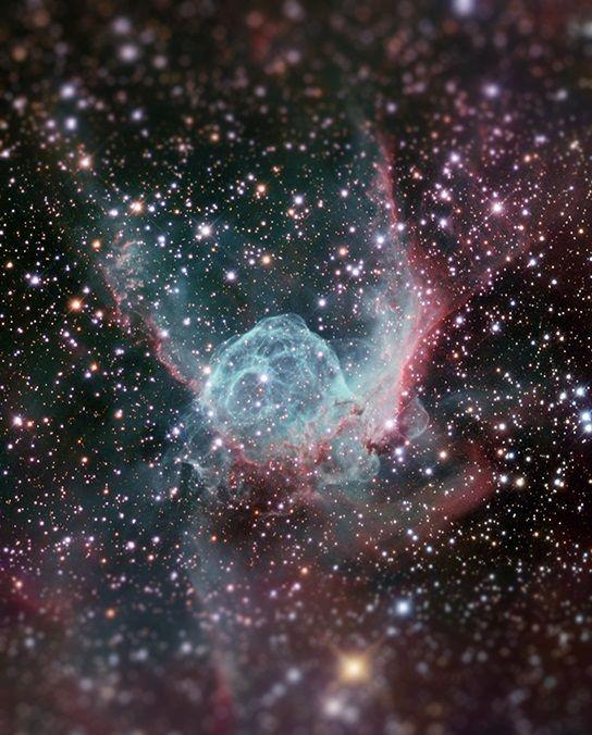 Cósmico: fotos do espaço ficam ainda mais impressionantes com o efeito tilt-shift