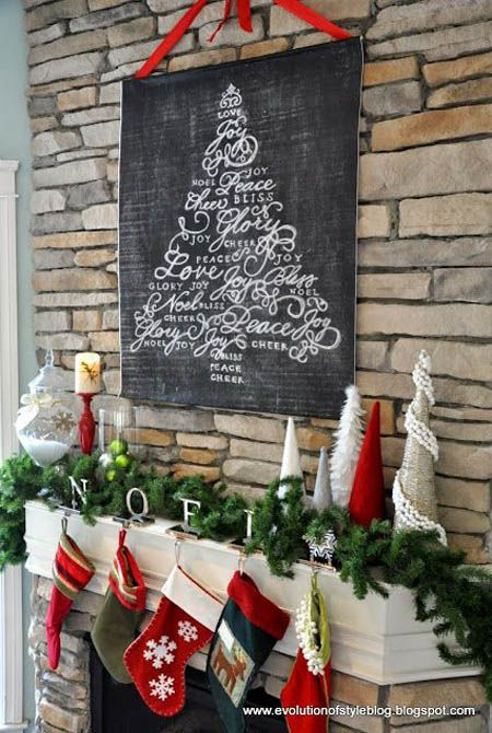 40+ Wonderful Christmas Mantel Decorations Ideas – All About Christmas
