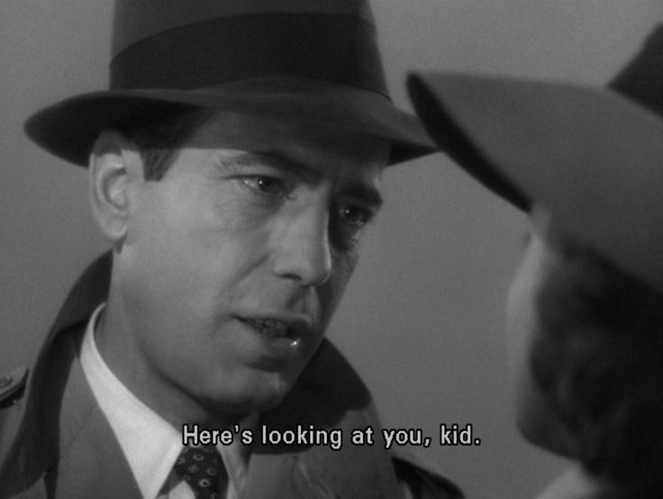 Casablanca....what a film