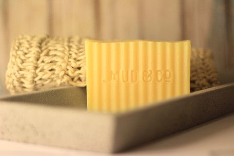 """The Lemongrass is always greener..."" Organic Coconut Oil, Shea Butter and Salt Water Soap Bar"