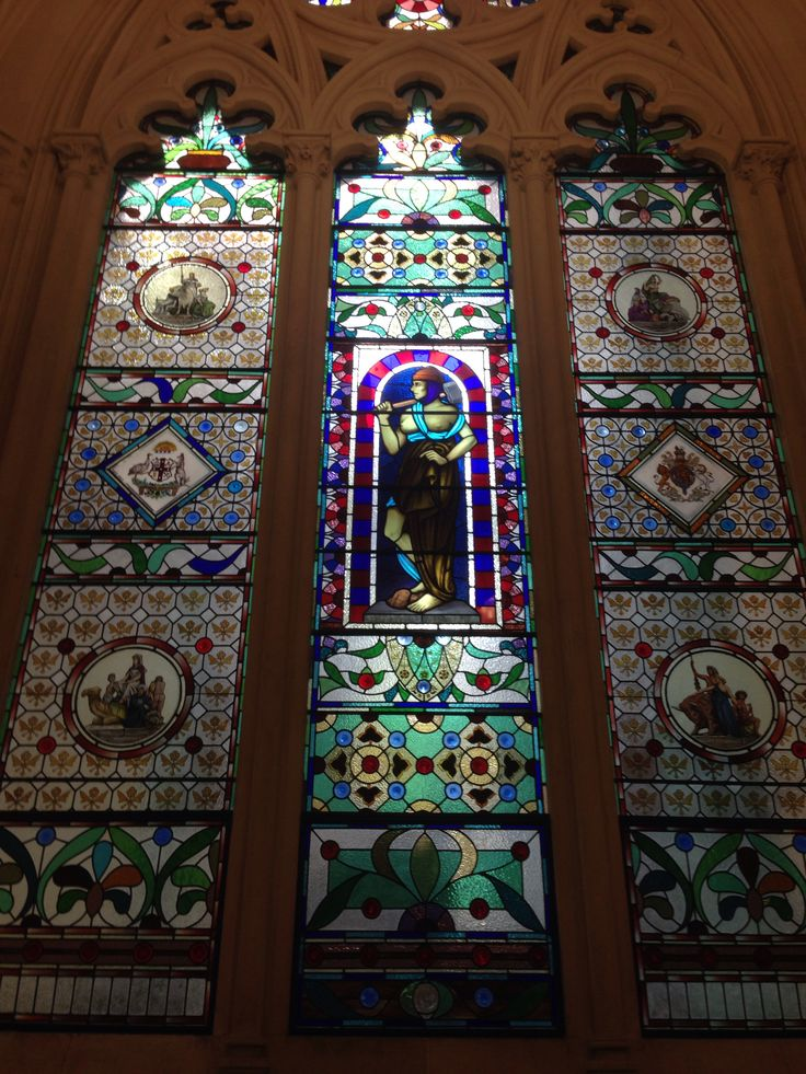 IN THE ANZ BANK MELBOURNE . An amazing old building of the gold rush, money bought beauty