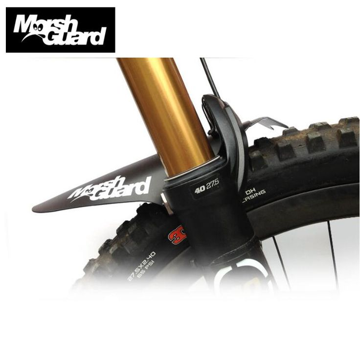 MARSH GUARD Bicycle Mudguard MTB Fender Mud Guards Wings For Bicycle Front Fenders Easy To Assemble