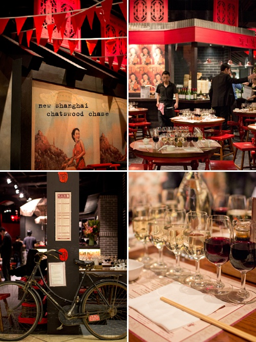 Dumplings and Wine at New Shanghai, Chatswood Chase