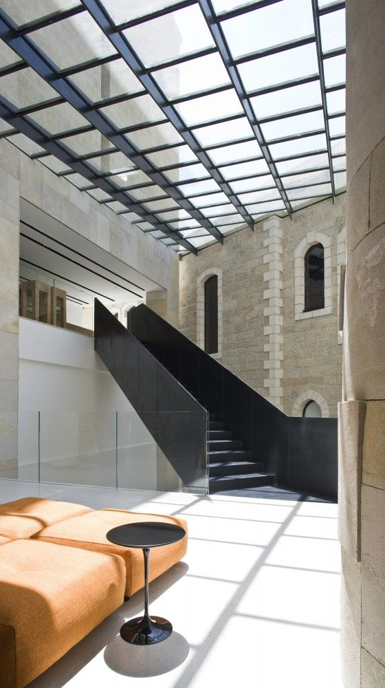 Mamilla Hotel — Safdie Architects — Interior by Piero Lissoni