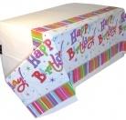Mantel para fiestas de cumpleaños
