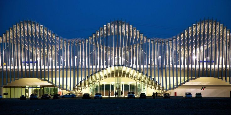 Станция скоростной дороги Реджо-Эмилия/С.Калатрава. Италия | 11 фотографий