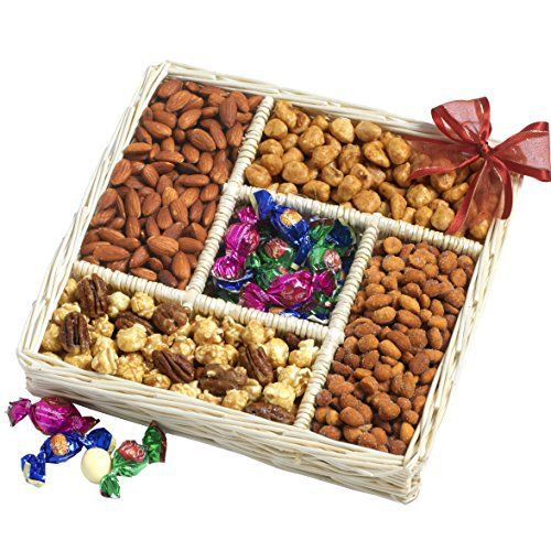 Broadway Basketeers Gourmet Sweet and Savory Nut Gift Basket - http://mygourmetgifts.com/broadway-basketeers-gourmet-sweet-and-savory-nut-gift-basket/