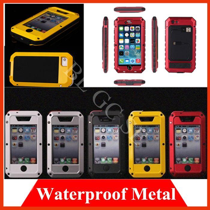 Купить товарМеталла алюминиевого сплава закаленное стекло водонепроницаемый чехол для iphone 6 плюс 4.7 5.5 5S 5 4S 4 Snowproof противоударный броня чехла в категории Сумки и чехлы для телефоновна AliExpress. Soft TPU cases Jelly Case Cover clear shell For HTC for Sony for LG nexus 5 iphone 4 4S 5 5S 5C 6 for samsung S3 S4 S5 N