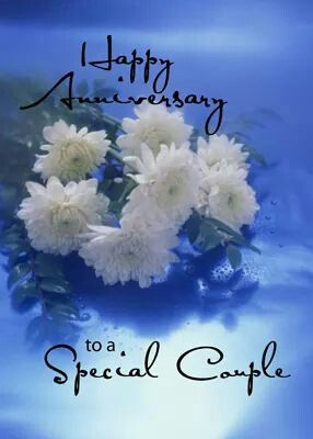 Happy Anniversary, My Dear Sister. May your Day be Filled with the Joy of God's Love... Hugs, Blessings and Much Love... :-D. ❤️From Christine