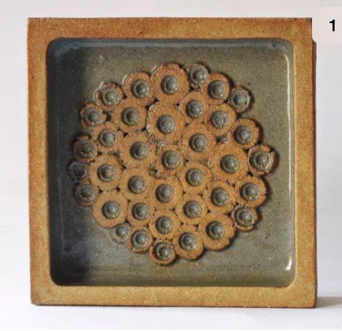 John Davidson, New Mills Pottery, Truro - nm mark DM mark