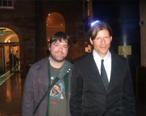 Crispin Glover and Paul Nolan - from my interview movietrailireland.wordpress.com/2015/03/20/inverview-with-a-film-journalist/