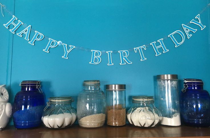 The latest addition to my #etsy shop: Happy Birthday Banner #letsparty #birthdaybanner #celebrate