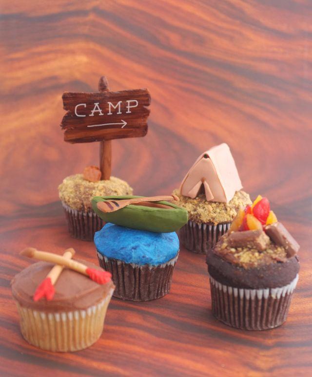 DIY Camp Cupcakes!