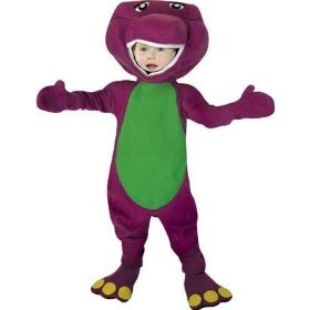 Barney Costume Boy - Toddler 3-4T $15.95