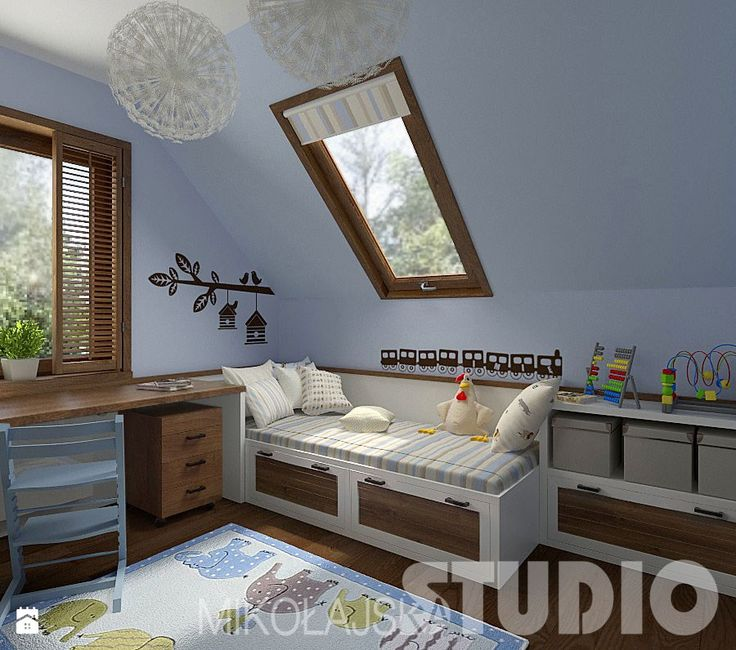 Pokój dla chłopca - zdjęcie od MIKOŁAJSKAstudio