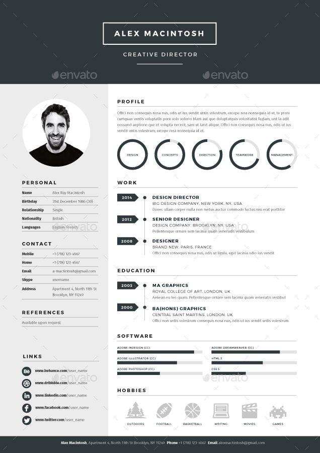 resume mock up - Поиск в Google