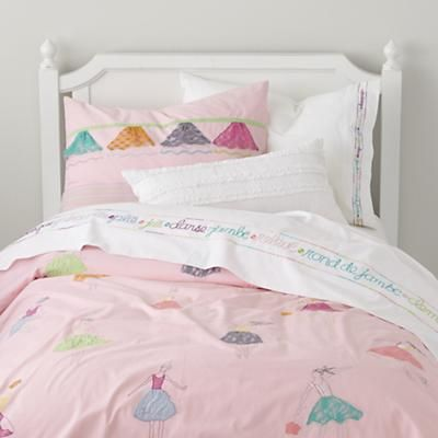 so prim and proper :) I love itKids Beds, Ballet Dancers, Girls Beds, Kids Room, Duvet Covers, Girls Room, Big Girls, Dancers Theme, Beds Sets