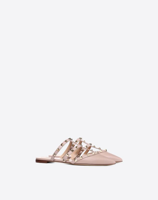 dc6ae2931 Rockstud slide-on flat mule | Things I Want in 2019 | Valentino ...