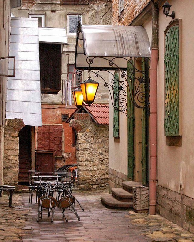 Lviv. Old Armenian quarter in the middle of historical center.@lvivingram