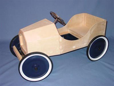 Wooden Pedal Car Kit Chasis And Body C Amp N Reproductions
