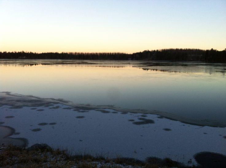 Vesankajärvi 14.12.2015