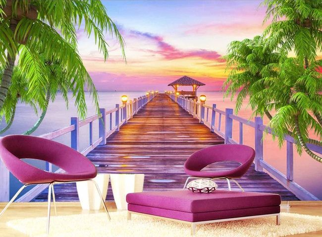 56 best images about papier peint 3d paysage on pinterest animaux tropical and photos. Black Bedroom Furniture Sets. Home Design Ideas