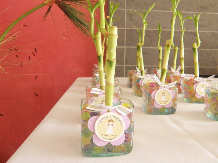 Moms-Angels: Decoraciones para las mesa de bambo