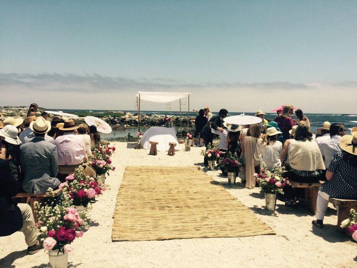 Altar en la playa