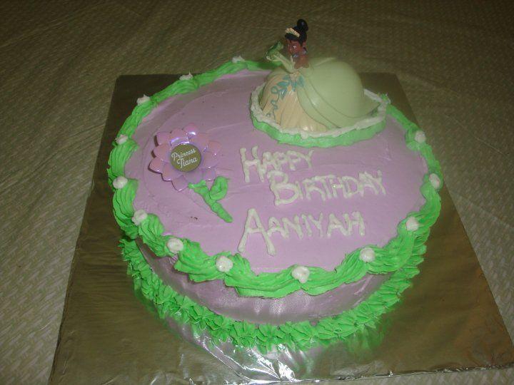 princess tiana birthday cake