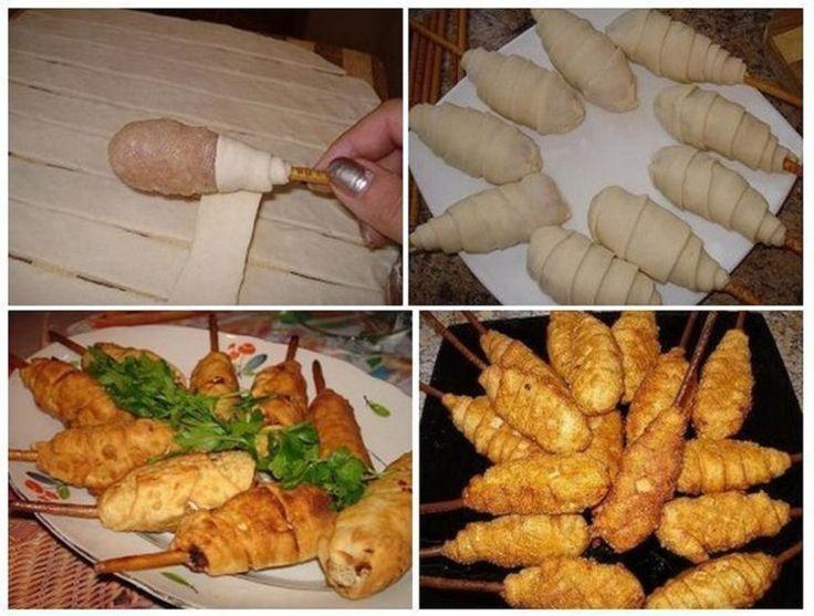Hamis csirkecombok tésztába tekerve! Húsvétra is el fogom készíteni! - Bidista.com - A TippLista!