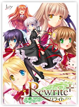 VisualArt's/Key Reveals Rewrite+ Visual Novel     New version shipping on July 29 to include scenario improvements, new illustrations, fandisc        Visual novel publisher VisualArt's Key brand r...