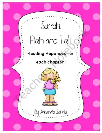 Shops reading response and sweet on pinterest for Sarah plain and tall coloring pages