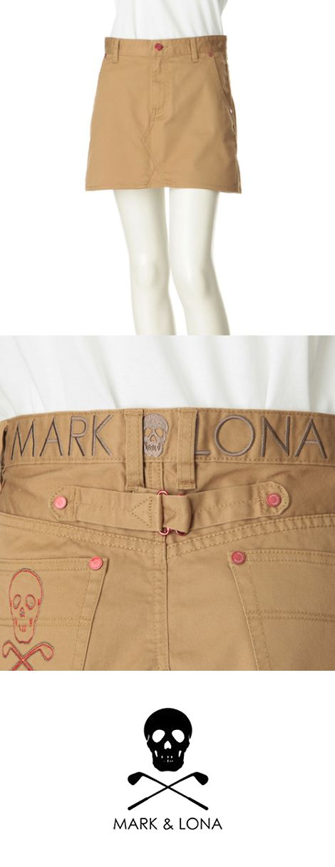 """MARK&LONA(マーク アンド ロナ)   ブランド名の由来は実在するハリウッドセレブカップルから名付けられた。MARKは貿易会社を営み世界中を旅するジェットセッター、LONAはハリウッド女優からのご指名のメイクアップアーティスト。 シャトーマーモントの丘の上に住む自由でオシャレな彼らのゴルフライフを演じるオシャレなゴルフウェア""""MARK&LONA""""。 セレブでキッチュなデザインはゴルフウェアとは思えないほどの斬新なデザインでありながら、機能素材や立体裁断を使用し、フィールドにも耐えうる、高い機能性も持ち合わせる。 従来のゴルフウェアにストレスを感じる、次世代のゴルフジェネレーション全ての人々に向けて発信された""""MARK&LONA""""。 新しいGOLF WEARそしてGOLF LIFEの先駆者として注目される唯一のブランドである。"""