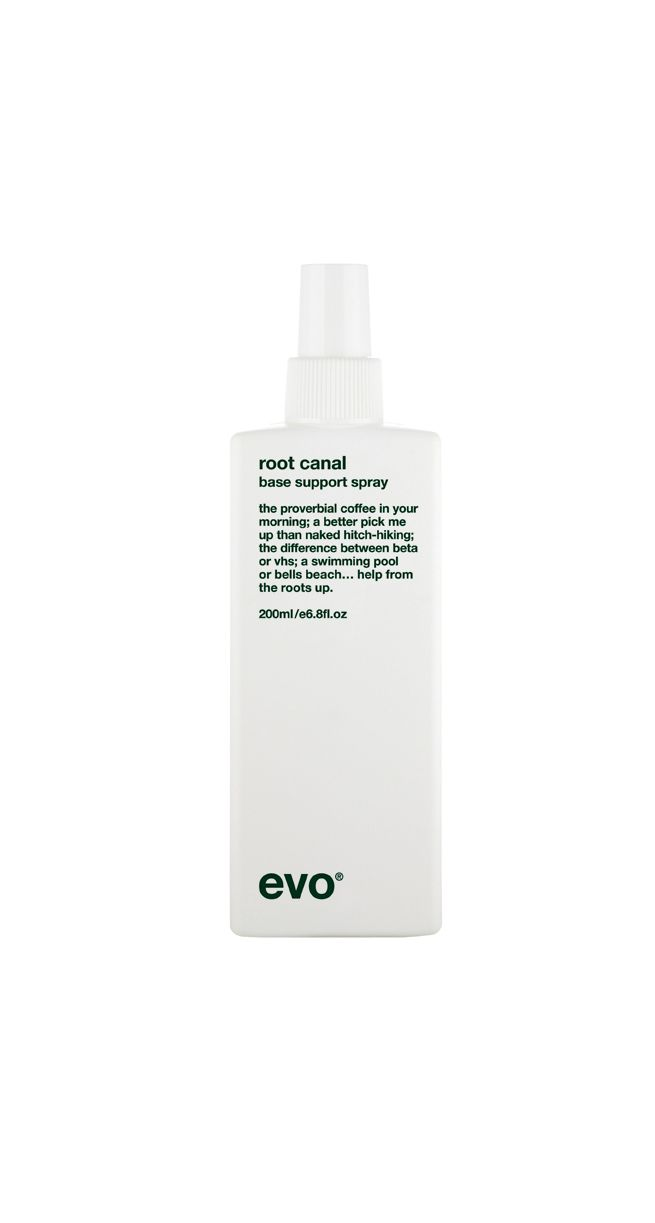 Concept  a root lift spray that builds body and texture  Results  controlled lift and overall volume  Recommended for  all hair types, especially fine, brittle hair. www.mediamakeupstore.com  #MediaMakeupAU #EvoHair