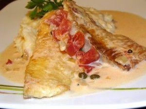 Рыба в сливочном соусе