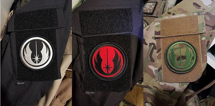 Star Wars Master Jedi Velcro Backed Embroidered Morale Patch   Tacticalthreadsaustralia.com