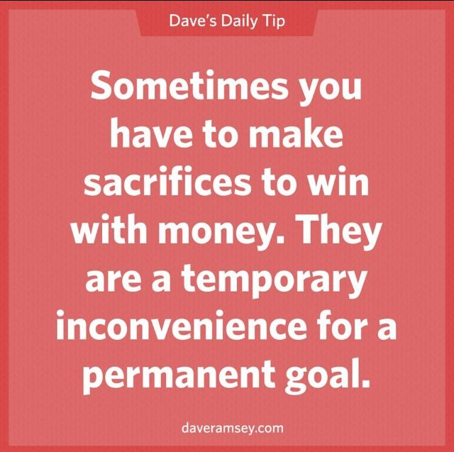 An extra job or a tight budget won't last forever. Financial peace will. ~ Dave Ramsey